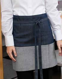 Jeans-Vorbinder 2-farbig 80 x 45 cm